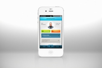 Cool app design for iPhone