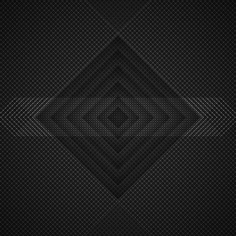 暗い菱形の背景