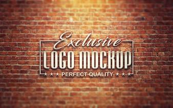 Elegant logo mock up