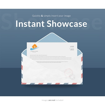 Envelope mock up