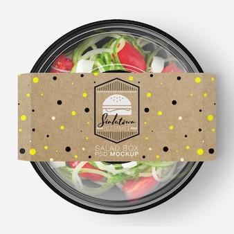 Fast food packaging mock up