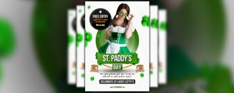 free flyer friday   – st paddy's day flyer template
