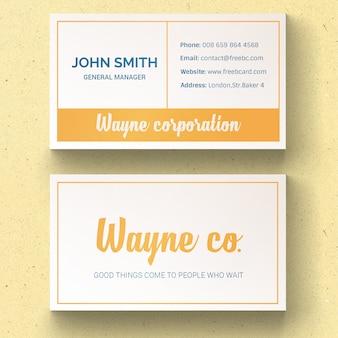 Fresh corporate card