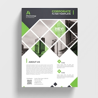 Geometric business brochure