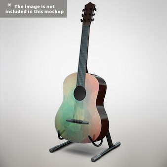 Guitar mock up design