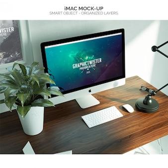 IMac mock-up