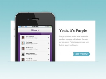 iPhone App Web Feature
