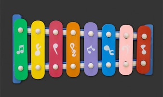 Isolated Xylophone PSD