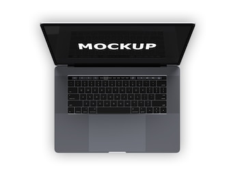 Laptop mock up design