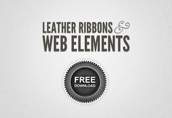 leather ribbons & web lements