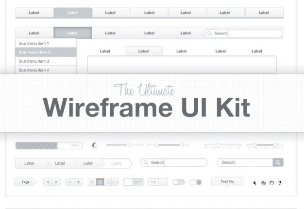 The ltimate wireframe  kit