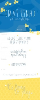 MailLinh font