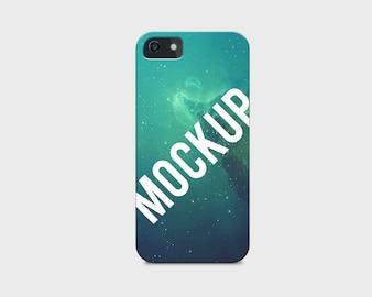 Mobile phone case mock up