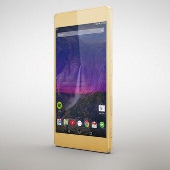 Mobile phone mock up design