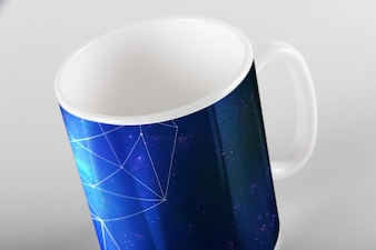 Mug mock up design