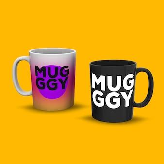 Mug mock up design
