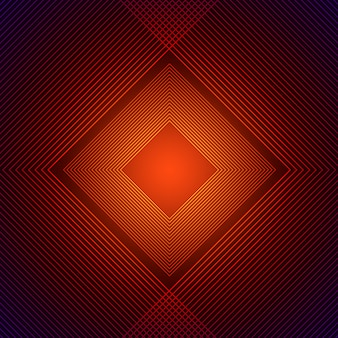 Orange rhombus background