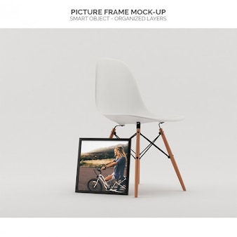 Picture frame mock-up