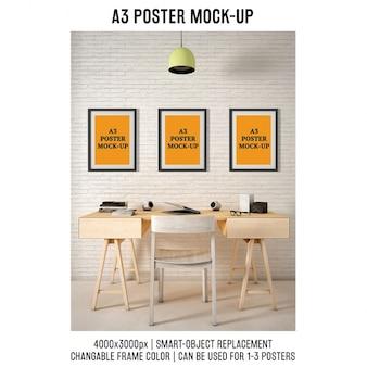 Posters mock up design