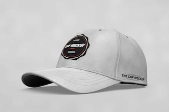 Realistic cap mock up
