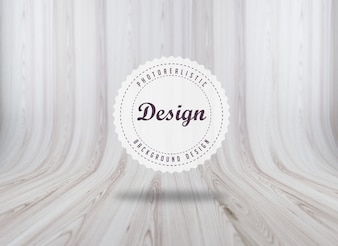 Realistic woodboard texture background design