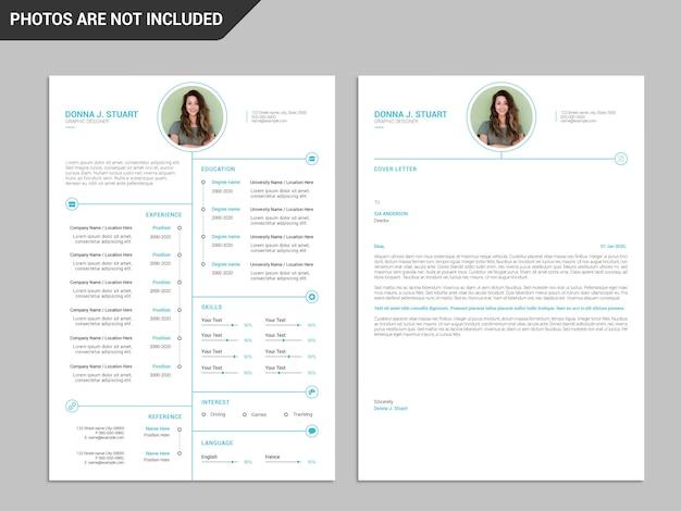 Resume template, professional resume template, creative resume, modern resume template