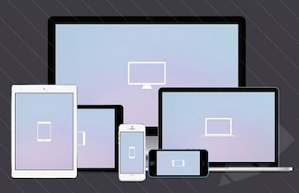 応答性の設計のための画面のモックアップ