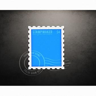 Stamp mock up design