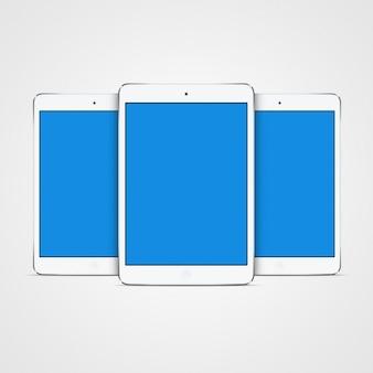 Tablet mock up design