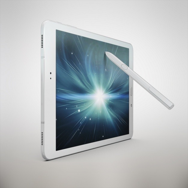 Tablet mock up design