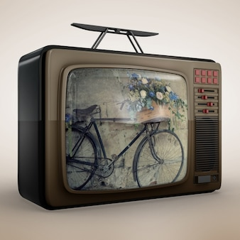 Television mock up design