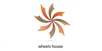 Wheel house logo design