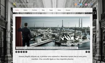 Zeences Homepage PSD