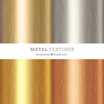 Упаковка из металлической текстуры