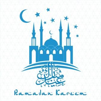 イスラム教抽象的な背景