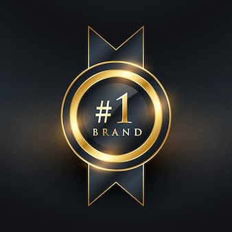 #1 luxury badge design
