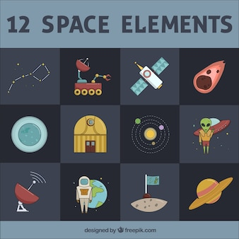 12 space elements