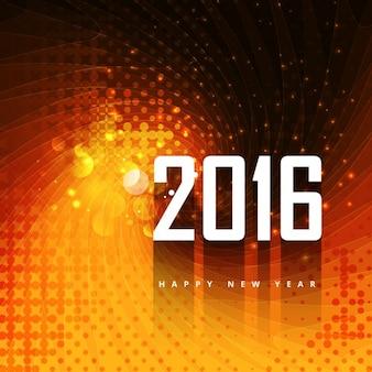 2016 background in color orange
