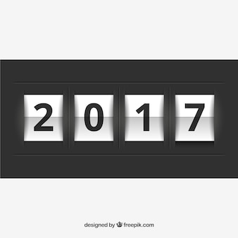 2017 new year counter