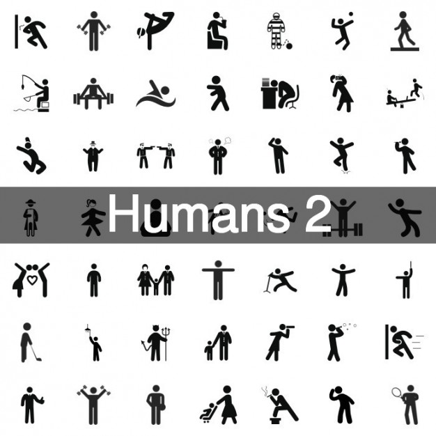 235 Humans icons collection