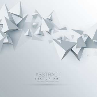 3d background with triangular polygons