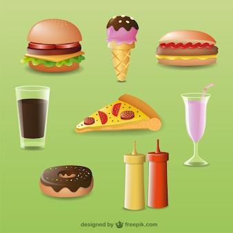 3Dの食品·デザイン