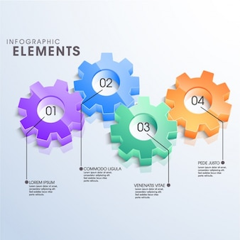 3d graphics with gears