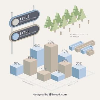 3d infographic designs