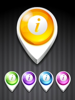 3d information icon
