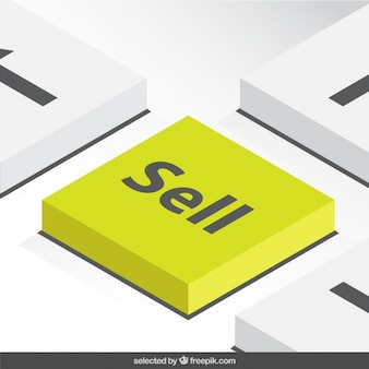 3d sell button