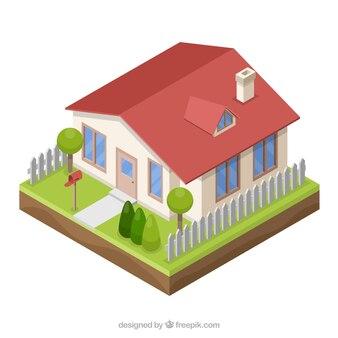 3D Style House