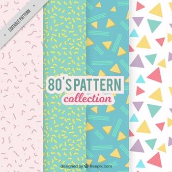 4 eighties patterns