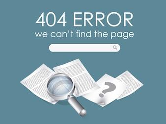 404 error background