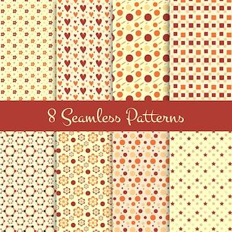 8 Seamless Patterns